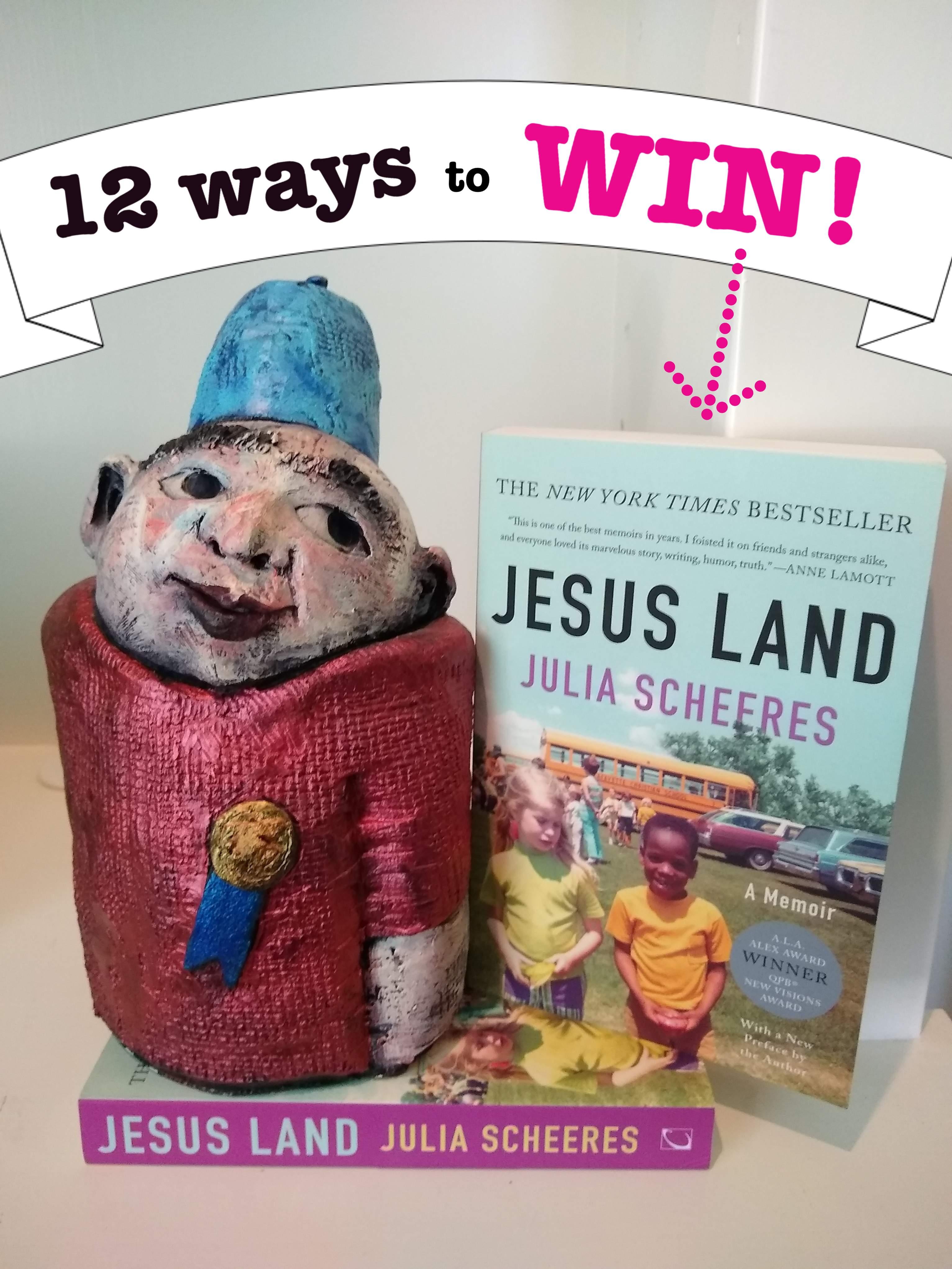 win one of two copies of jesus land by julia scheeres