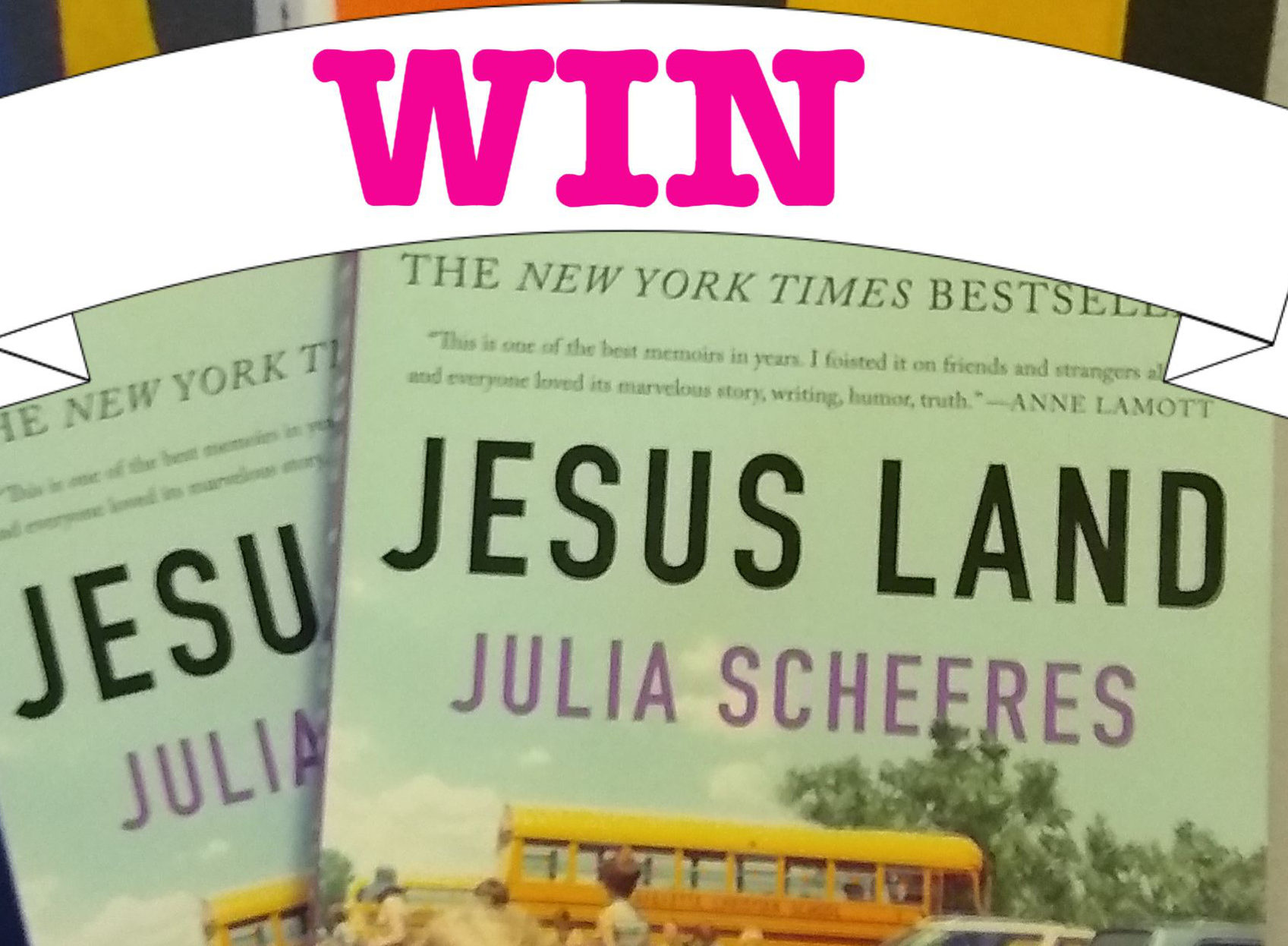 win a copy of jesus land by julia scheeres