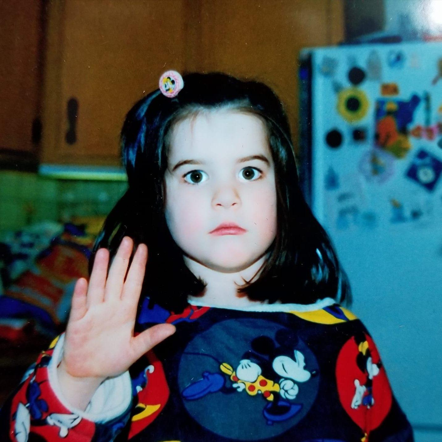 Meaghan Thomas as a kid